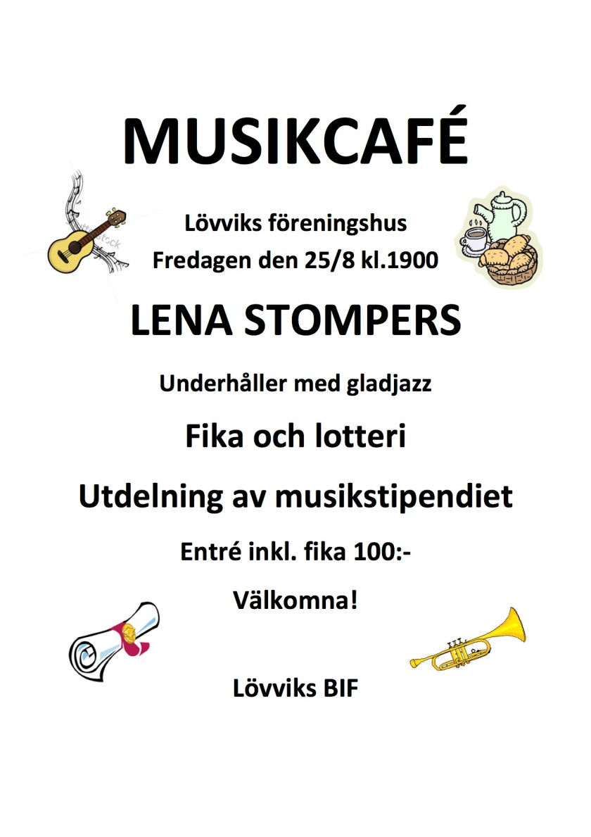 MusikCafé i Lövvik 2017