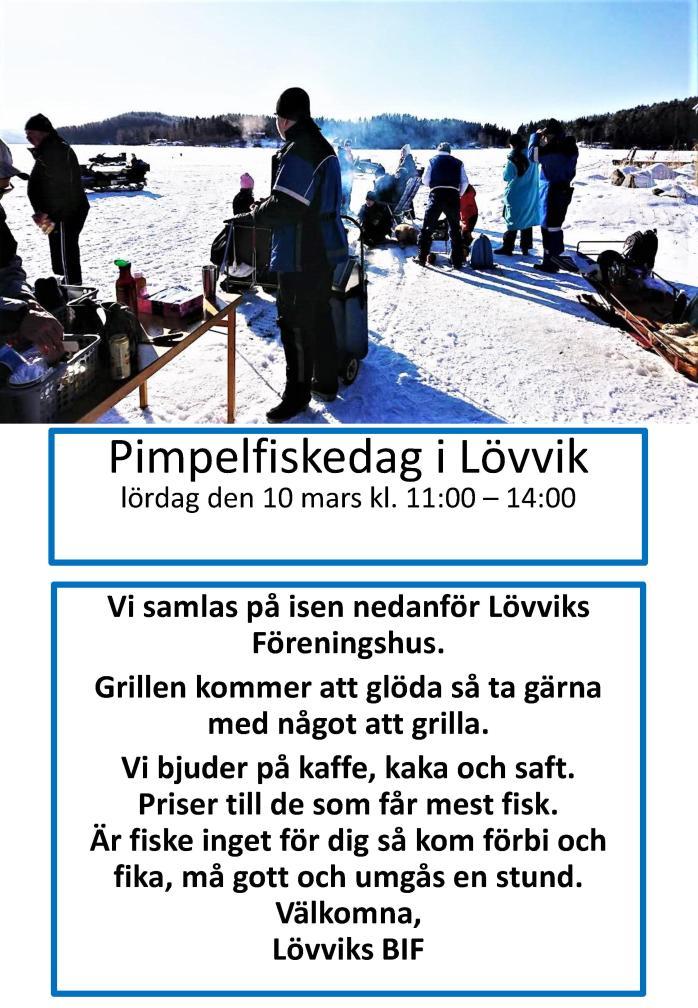 Pimpelfiskedag i Lövvik 2018