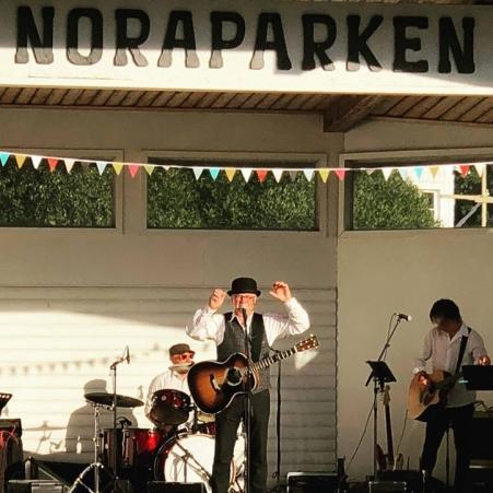 Östen Eriksson in action
