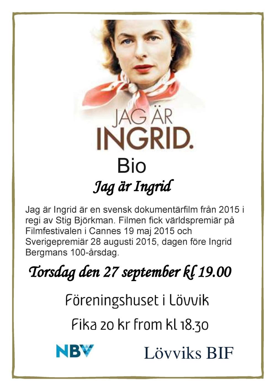 affisch_Jag är Ingrid